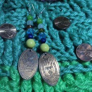 Disney Jewelry - DISNEY T H E M E P A R K S Penny Earrings